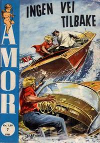 Cover Thumbnail for Amor (Serieforlaget / Se-Bladene / Stabenfeldt, 1961 series) #7/1961