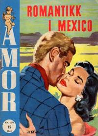 Cover Thumbnail for Amor (Serieforlaget / Se-Bladene / Stabenfeldt, 1961 series) #15/1961