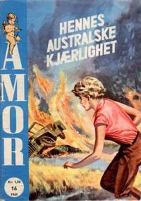 Cover Thumbnail for Amor (Serieforlaget / Se-Bladene / Stabenfeldt, 1961 series) #16/1961