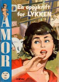 Cover Thumbnail for Amor (Serieforlaget / Se-Bladene / Stabenfeldt, 1961 series) #19/1961