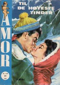 Cover Thumbnail for Amor (Serieforlaget / Se-Bladene / Stabenfeldt, 1961 series) #21/1961