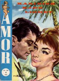 Cover Thumbnail for Amor (Serieforlaget / Se-Bladene / Stabenfeldt, 1961 series) #4/1962