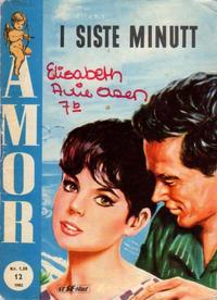 Cover Thumbnail for Amor (Serieforlaget / Se-Bladene / Stabenfeldt, 1961 series) #12/1962