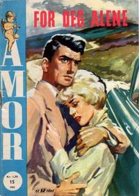 Cover Thumbnail for Amor (Serieforlaget / Se-Bladene / Stabenfeldt, 1961 series) #15/1962