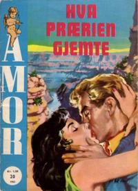 Cover Thumbnail for Amor (Serieforlaget / Se-Bladene / Stabenfeldt, 1961 series) #20/1962