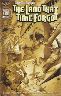 Cover Thumbnail for Edgar Rice Burroughs' The Land That Time Forgot (American Mythology Productions, 2016 series) #2 [Antique Cover]
