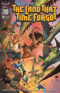 Cover Thumbnail for Edgar Rice Burroughs' The Land That Time Forgot (American Mythology Productions, 2016 series) #2 [Main Cover]