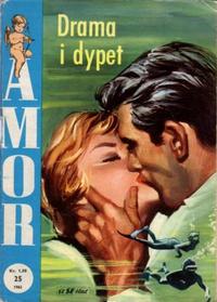 Cover Thumbnail for Amor (Serieforlaget / Se-Bladene / Stabenfeldt, 1961 series) #25/1962