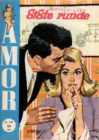 Cover Thumbnail for Amor (Serieforlaget / Se-Bladene / Stabenfeldt, 1961 series) #24/1963