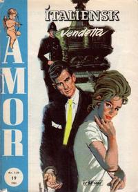 Cover Thumbnail for Amor (Serieforlaget / Se-Bladene / Stabenfeldt, 1961 series) #19/1963