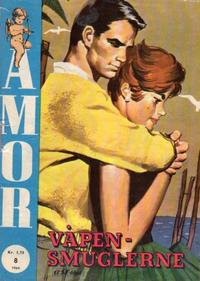 Cover Thumbnail for Amor (Serieforlaget / Se-Bladene / Stabenfeldt, 1961 series) #8/1964