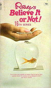 Cover Thumbnail for Ripley's Believe It or Not! (Pocket Books, 1941 series) #16 [Fish in Glass Cover]