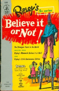 Cover Thumbnail for Ripley's Believe It or Not! (Pocket Books, 1941 series) #5