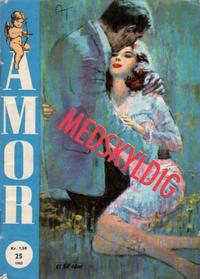 Cover Thumbnail for Amor (Serieforlaget / Se-Bladene / Stabenfeldt, 1961 series) #25/1963
