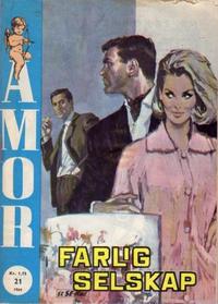 Cover Thumbnail for Amor (Serieforlaget / Se-Bladene / Stabenfeldt, 1961 series) #21/1964