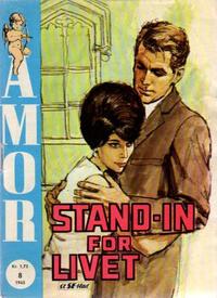 Cover Thumbnail for Amor (Serieforlaget / Se-Bladene / Stabenfeldt, 1961 series) #8/1965