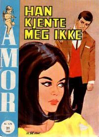 Cover Thumbnail for Amor (Serieforlaget / Se-Bladene / Stabenfeldt, 1961 series) #21/1965