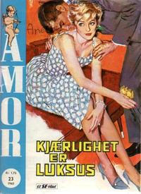 Cover Thumbnail for Amor (Serieforlaget / Se-Bladene / Stabenfeldt, 1961 series) #23/1965