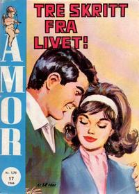Cover Thumbnail for Amor (Serieforlaget / Se-Bladene / Stabenfeldt, 1961 series) #17/1966