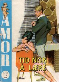 Cover Thumbnail for Amor (Serieforlaget / Se-Bladene / Stabenfeldt, 1961 series) #18/1966