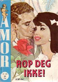 Cover Thumbnail for Amor (Serieforlaget / Se-Bladene / Stabenfeldt, 1961 series) #27/1966