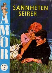 Cover Thumbnail for Amor (Serieforlaget / Se-Bladene / Stabenfeldt, 1961 series) #7/1967