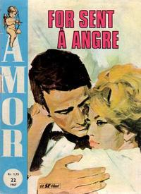 Cover Thumbnail for Amor (Serieforlaget / Se-Bladene / Stabenfeldt, 1961 series) #22/1967