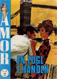 Cover Thumbnail for Amor (Serieforlaget / Se-Bladene / Stabenfeldt, 1961 series) #24/1967