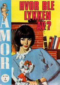 Cover Thumbnail for Amor (Serieforlaget / Se-Bladene / Stabenfeldt, 1961 series) #2/1968