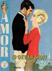 Cover Thumbnail for Amor (Serieforlaget / Se-Bladene / Stabenfeldt, 1961 series) #21/1965 [21/1966]