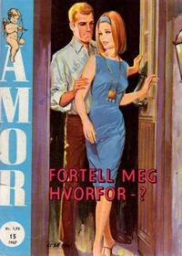 Cover Thumbnail for Amor (Serieforlaget / Se-Bladene / Stabenfeldt, 1961 series) #15/1967