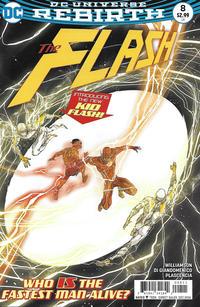 Cover Thumbnail for The Flash (DC, 2016 series) #8 [Carmine Di Giandomenico Cover]