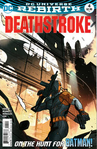Cover Thumbnail for Deathstroke (DC, 2016 series) #4 [Direct Sales]