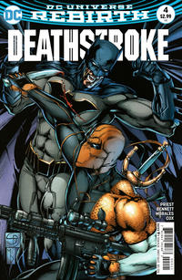 Cover Thumbnail for Deathstroke (DC, 2016 series) #4 [Shane Davis Cover]