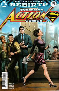 Cover Thumbnail for Action Comics (DC, 2011 series) #965 [Gary Frank Cover Variant]