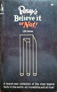 Cover Thumbnail for Ripley's Believe It or Not! (Pocket Books, 1941 series) #12