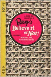 Cover Thumbnail for Ripley's Believe It or Not! (Pocket Books, 1941 series) #10 [First Printing]