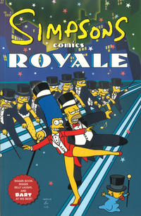 Cover Thumbnail for Simpsons Comics Royale (HarperCollins, 2001 series)