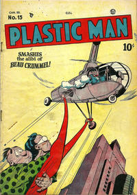 Cover Thumbnail for Plastic Man (Bell Features, 1949 series) #15