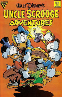 Cover Thumbnail for Walt Disney's Uncle Scrooge Adventures (Gladstone, 1987 series) #2 [Canadian]