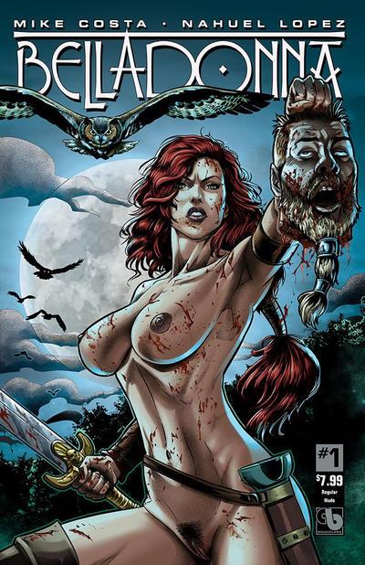Cover for Belladonna (Avatar Press, 2015 series) #1 [Century Nude & Naughty C - Christian Zanier]