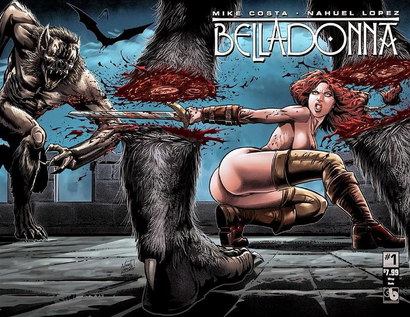 Cover for Belladonna (Avatar Press, 2015 series) #1 [Killer Body - Renato Camilo]