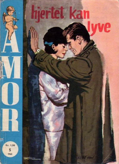 Cover for Amor (Serieforlaget / Se-Bladene / Stabenfeldt, 1961 series) #5/1963