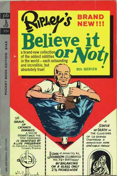 Cover for Ripley's Believe It or Not! (Pocket Books, 1941 series) #8