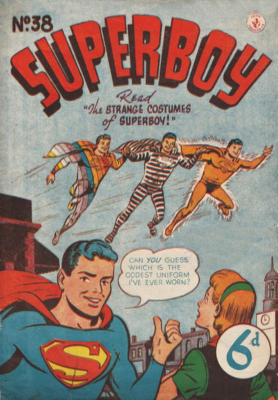 Cover for Superboy (K. G. Murray, 1949 series) #38