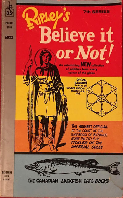 Cover for Ripley's Believe It or Not! (Pocket Books, 1941 series) #7