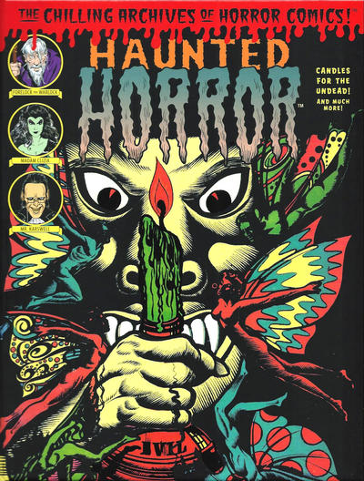 Cover for The Chilling Archives of Horror Comics! (IDW, 2010 series) #16 - Haunted Horror: Candles for the Undead! and Much More! (Volume 4)