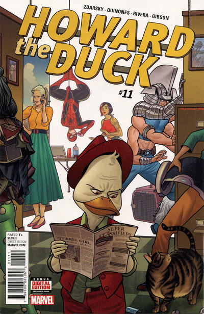 Cover for Howard the Duck (Marvel, 2016 series) #11