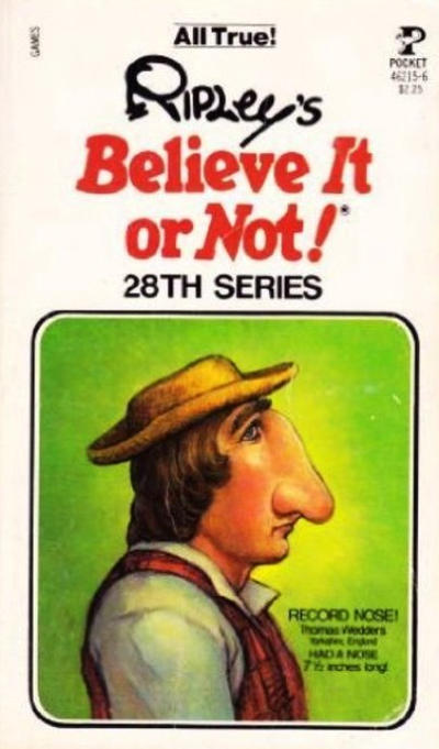 Cover for Ripley's Believe It or Not! (Pocket Books, 1941 series) #28
