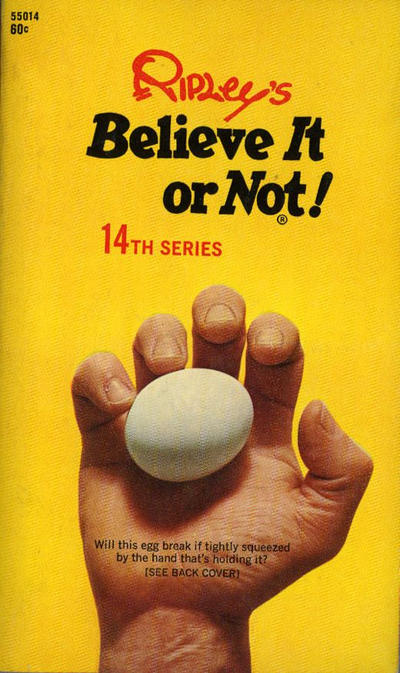 Cover for Ripley's Believe It or Not! (Pocket Books, 1941 series) #14